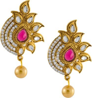 Aahaan sparkle fushion Alloy Drop Earring