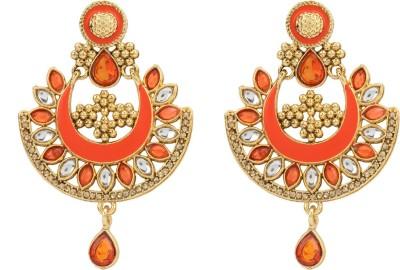 R18Jewels-Fashion&U Kundan Princess_Anushka Metal Chandbali Earring