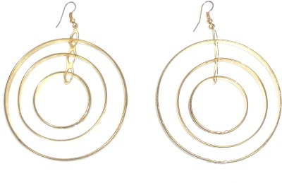 Adimani Fidus Brass Dangle Earring