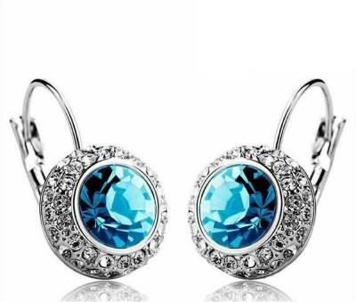 University Trendz Univ_E072 Crystal Alloy Clip-on Earring