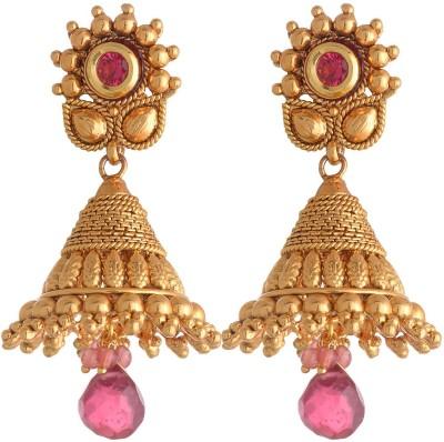Neckies AFJK Brass Jhumki Earring