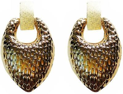 Blingxing Golden Knuckle Metal, Alloy Drop Earring