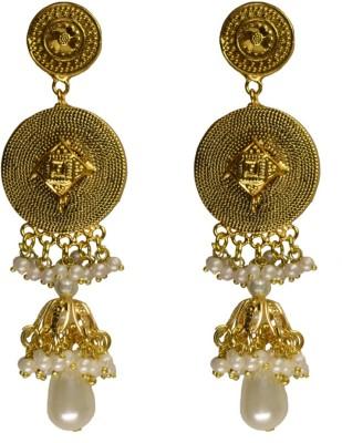 Rasaam 2 step jhumki antique Beads Alloy Jhumki Earring