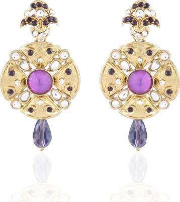 I Jewels Traditional Alloy Drop Earring
