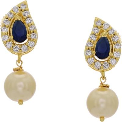 Prisha ADEAR846 Zircon Copper Drop Earring