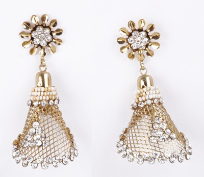 NEHASTORE Traditional look artificial Alloy Jhumki Earring