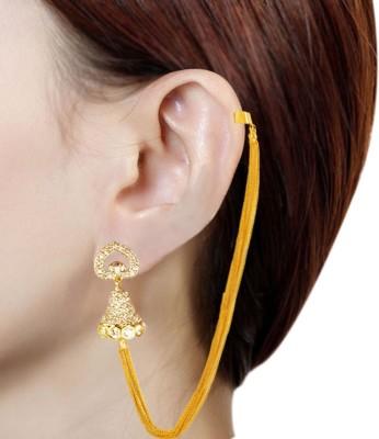 Prisha PPIPLCZER12 Zircon Copper Jhumki Earring