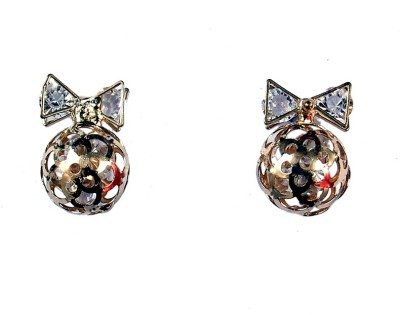 Uzuri Elegant Copper Stud Earring