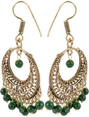 Waama Jewels Golden Brass Dangle & Drop Earrings and jewellery wedding wear fashion Women Metal Dangle Earring