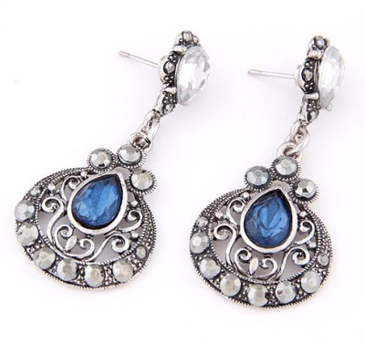 The Sparkle Connection Mogulisque Alloy Drop Earring