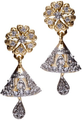 Asset Jewels Sparkle Alloy Jhumki Earring