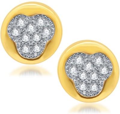 Sukkhi Stunning Micro Pave Cubic Zirconia Alloy Stud Earring