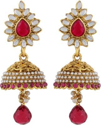 Veracious Jewellery Polki Copper Jhumki Earring