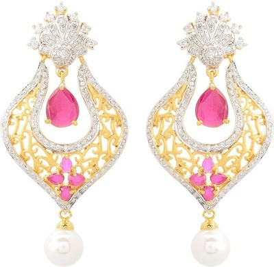 Dazzle Collections DC-EAR-50009 Zircon Alloy Drop Earring