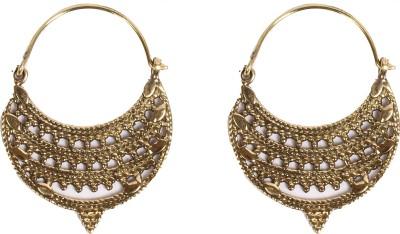 Divitha Allure Divitha Allure golden hanging danglers. Metal Drop Earring