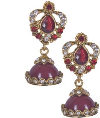 Aakhya JHM6 Alloy Jhumki Earring