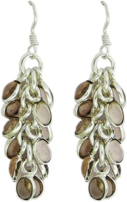 Yogada Handmade016 Brass, Copper, Zinc, Nickel Dangle Earring