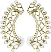 The Jewel Box Filigree Designer Pearl Copper Cuff Earring best price on Flipkart @ Rs. 443
