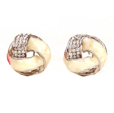 Hanishka Alloy Magnetic Earring