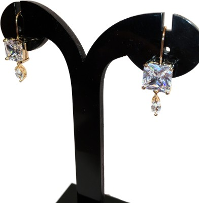 Chains n Charms OvalC Crystal Alloy Drop Earring