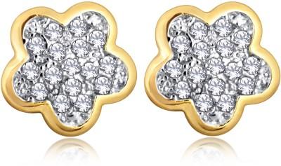 Alamod ALER 5084 Cubic Zirconia Brass Stud Earring