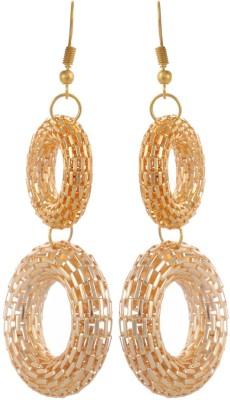 Heartzy Gold Plated Designer Earrings Alloy Dangle Earring