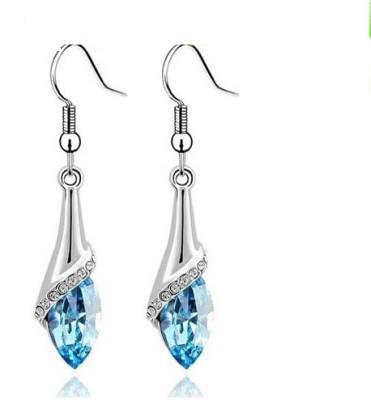 University Trendz Univ_E075 Crystal Alloy Dangle Earring