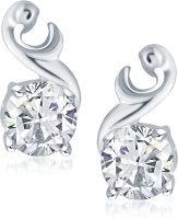 VK Jewels Glam Star Cubic Zirconia Alloy Stud Earring