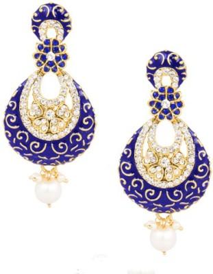 SIDDH Royal Rajasthani Alloy Dangle Earring