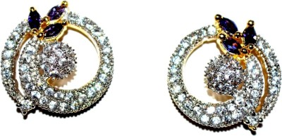 Crazy Carting Beauty Fashion 987 Zircon Alloy Drop Earring