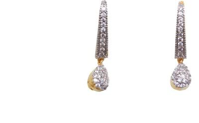 Greek Sojourn F3B84 Brass Drop Earring