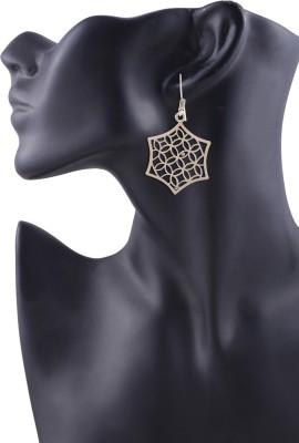 Arittra Tree Style German Silver Dangle Earring