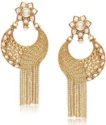 Jewels Galaxy Luxuria Collection Copper Chandelier Earring