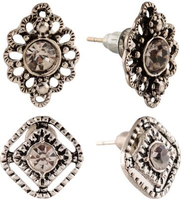 Anokhi Ada Designer Metal Stud Earring