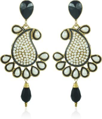 BoBell Fusion Meenakari Indians Copper Drop Earring