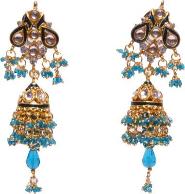 Traditsiya Elegant Kundan Alloy Jhumki Earring