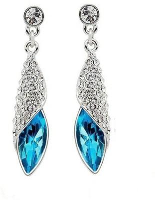 University Trendz Univ_E084 Crystal Alloy Drop Earring