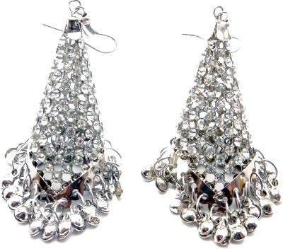 Sansar India Crystal Metal Jhumki Earring