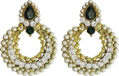 Aura Collection Statement22 Alloy Chandbali Earring