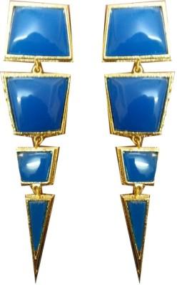 zenith jewels princess04 Brass Chandelier Earring