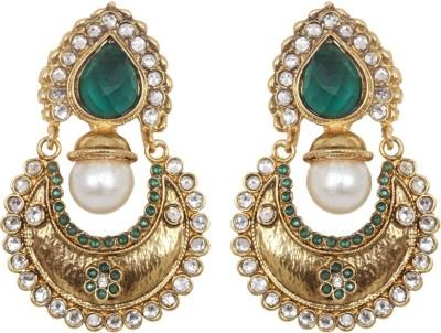 Jewelfin Classy Alloy Chandbali Earring
