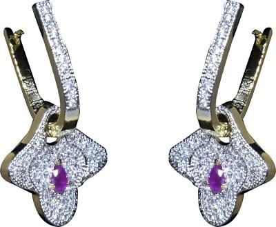 Mini Muskan Cz Earring Cubic Zirconia Brass Chandelier Earring