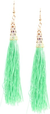 Rubans Feather Metal Tassel Earring