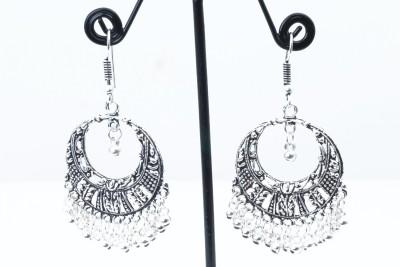 Waama Jewels lovely silver Metal Jhumki Earring