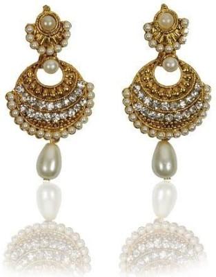 Rashi Jewellery Gorgeous White Pearl Alloy Drop Earring