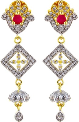Fashionage Brass Drop Earring