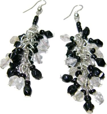 Laron Handicrafts Glass, Metal Drop Earring