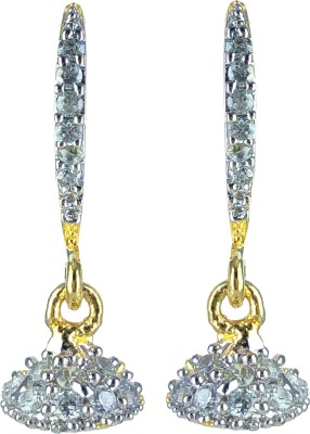 YUVEN Drop With Zircon Brass, Alloy Dangle Earring