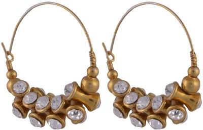 Manukunj Brass Hoop Earring