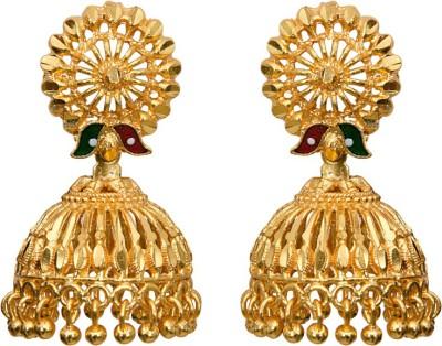 Mitthi Jewels Party Wear Alloy Jhumki Earring